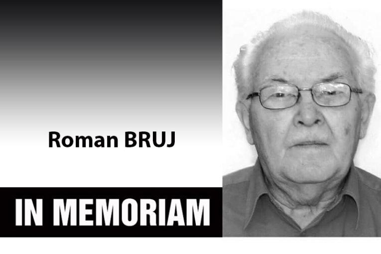 In memoriam – Roman Bruj