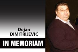 IN MEMORIAM – Dejan Deki Dimitrijević