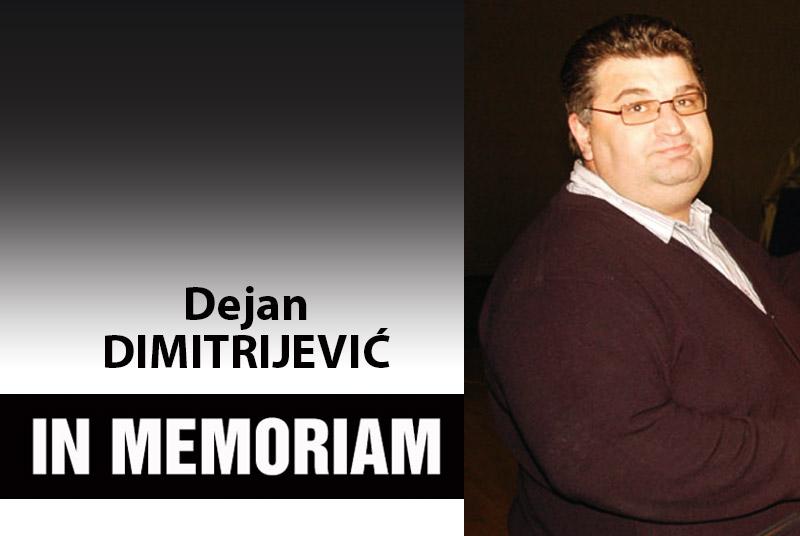 IN MEMORIAM - Dejan Deki Dimitrijević