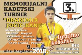 Izveštaj sa III Memorijalnog turnira Branimir Jocić-Bane.