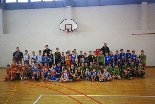 Novogodišnji mini basket festival za dečake i devojčice mlađe od 10 godina