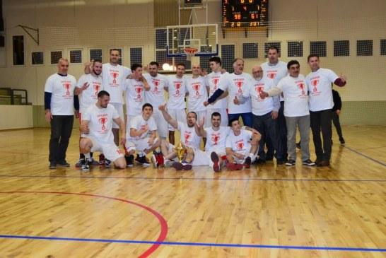 """KK """"Svilajnac"""" pobednik Druge muške regionalne lige Zapad2"""