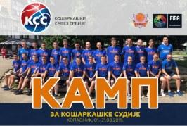 Kamp za košarkaške sudije Kopaonik 2019