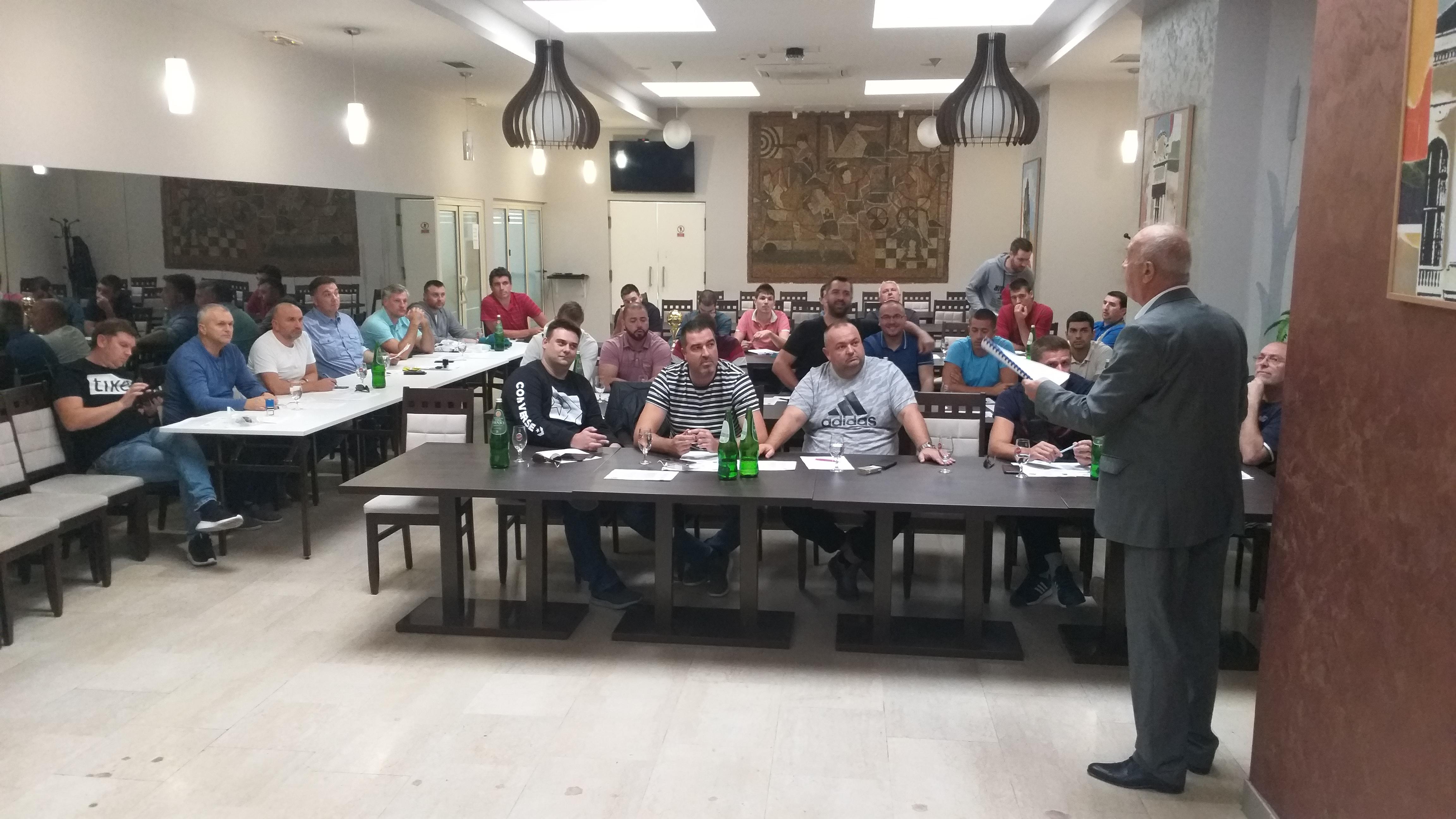 Sastanak klubova 1 MRL Zapad - Kragujevac, 22 septembar 2019 godine