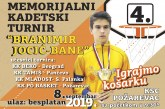 "4. Memorijalni turnir ""BANE JOCIĆ"""