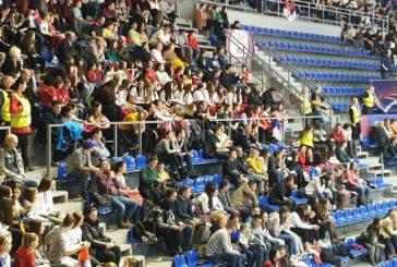 Košarkašice RKS Centralna Srbija na utakmici ženske reprezentacije Srbije sa Nigerijom