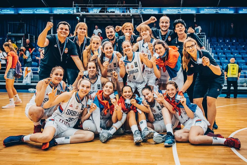Fantastičan uspeh ženske juniorske reprezentacije Srbije na Evropskom prvenstvu - srebrna medalja !!!!!!!!!!!!!