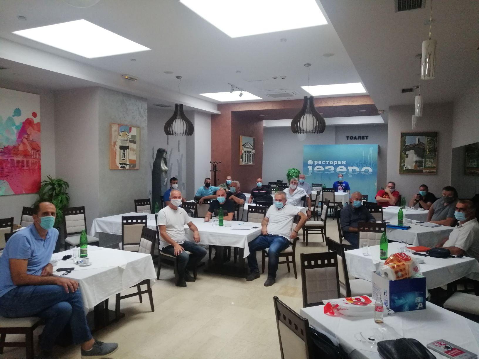 Održan sastanak klubova Prve muške regionalne lige Zapad